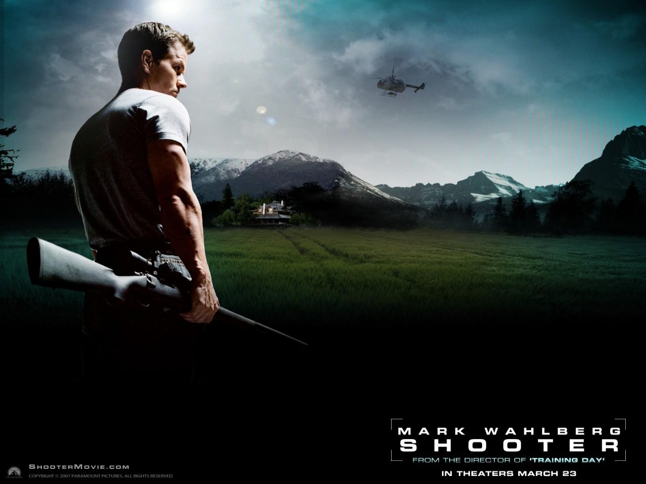 Wallpaper del film Shooter con Mark Wahlberg