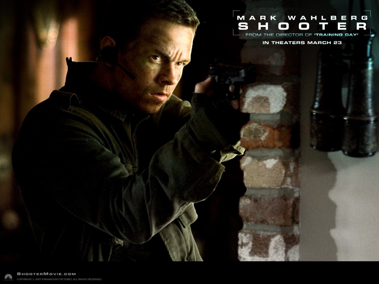 Wallpaper del film Shooter