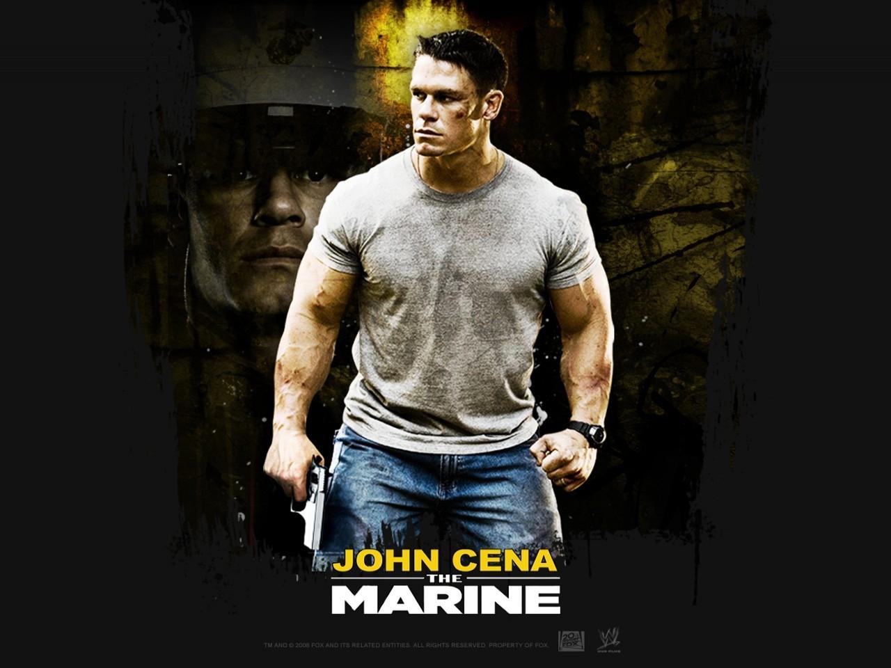 Wallpaper del film Presa mortale con il wrestler John Cena