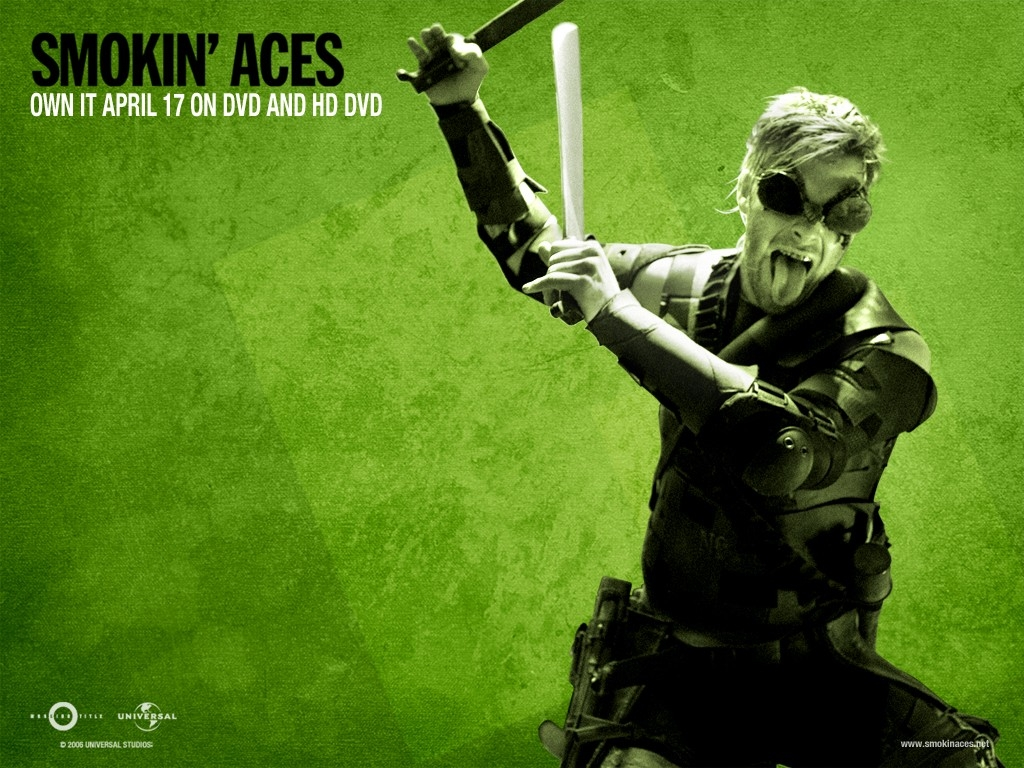 Wallpaper verde del film Smokin' Aces