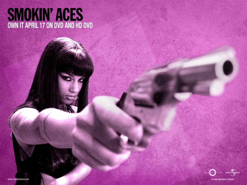 Wallpaper rosa del film Smokin' Aces
