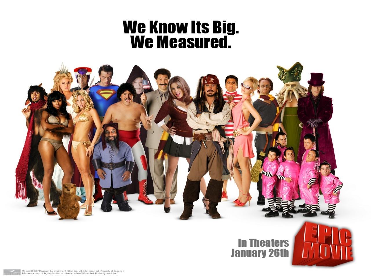 Wallpaper della spoof-comedy Epic Movie