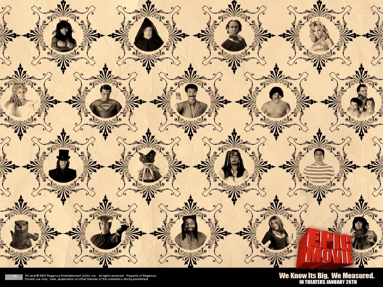 Wallpaper (nel vero senso della parola) del film Epic Movie