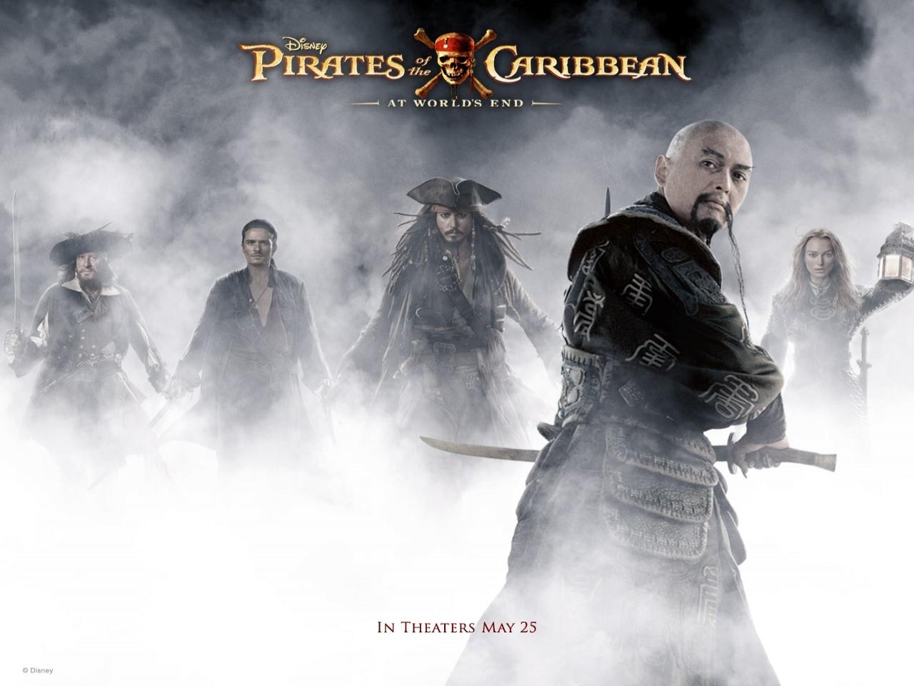Wallpaper del film Pirati dei Caraibi - Ai confini del mondo