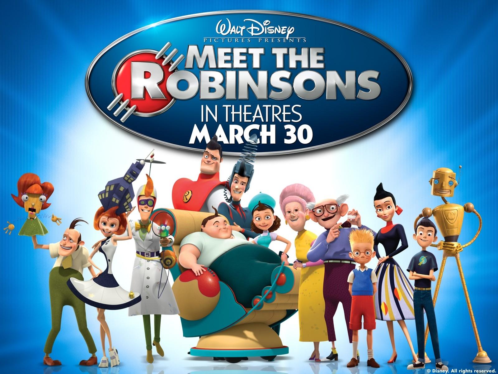Wallpaper del film I Robinson - Una famiglia spaziale