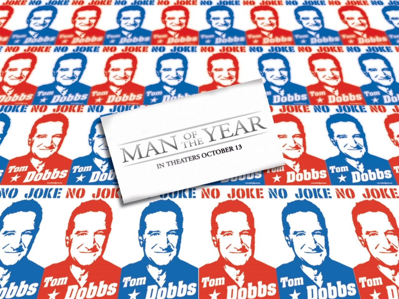 Wallpaper del film L'uomo dell'anno con Robin Williams
