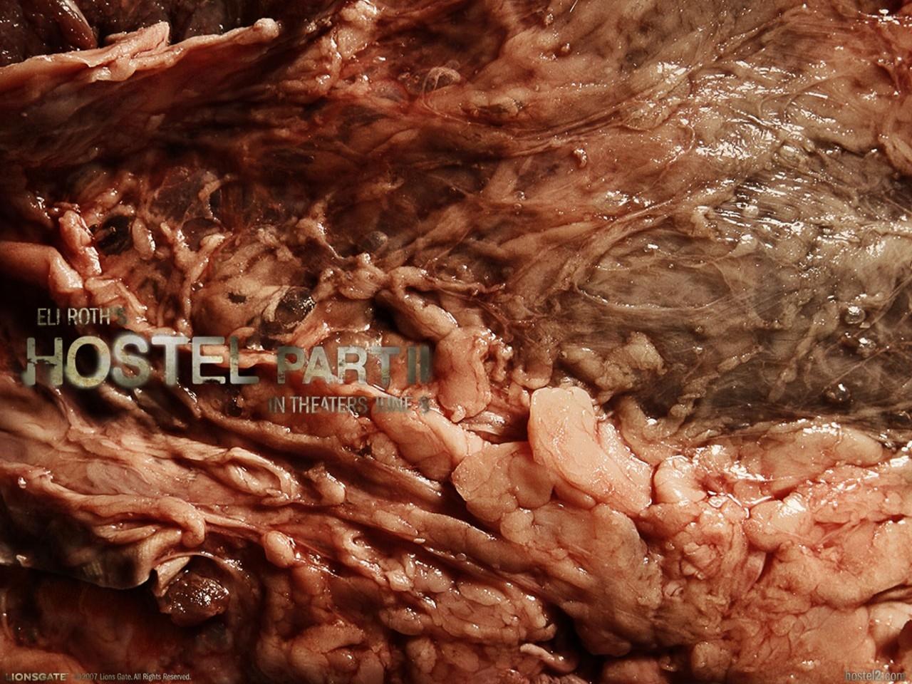 Wallpaper 'al sangue' del film Hostel: Part II