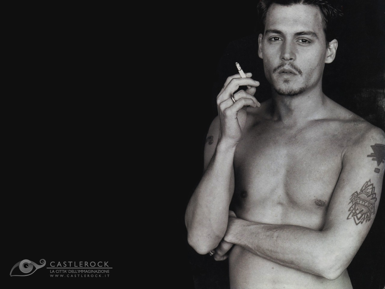 Wallpaper per l'attore Johnny Depp