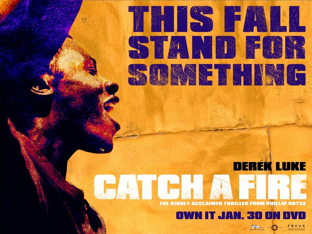 Wallpaper del film Catch a Fire