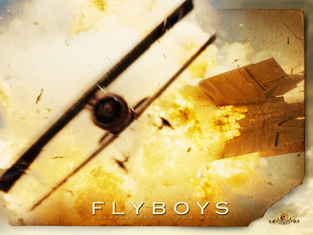 Wallpaper del film Giovani Aquile - Flyboys (2006)