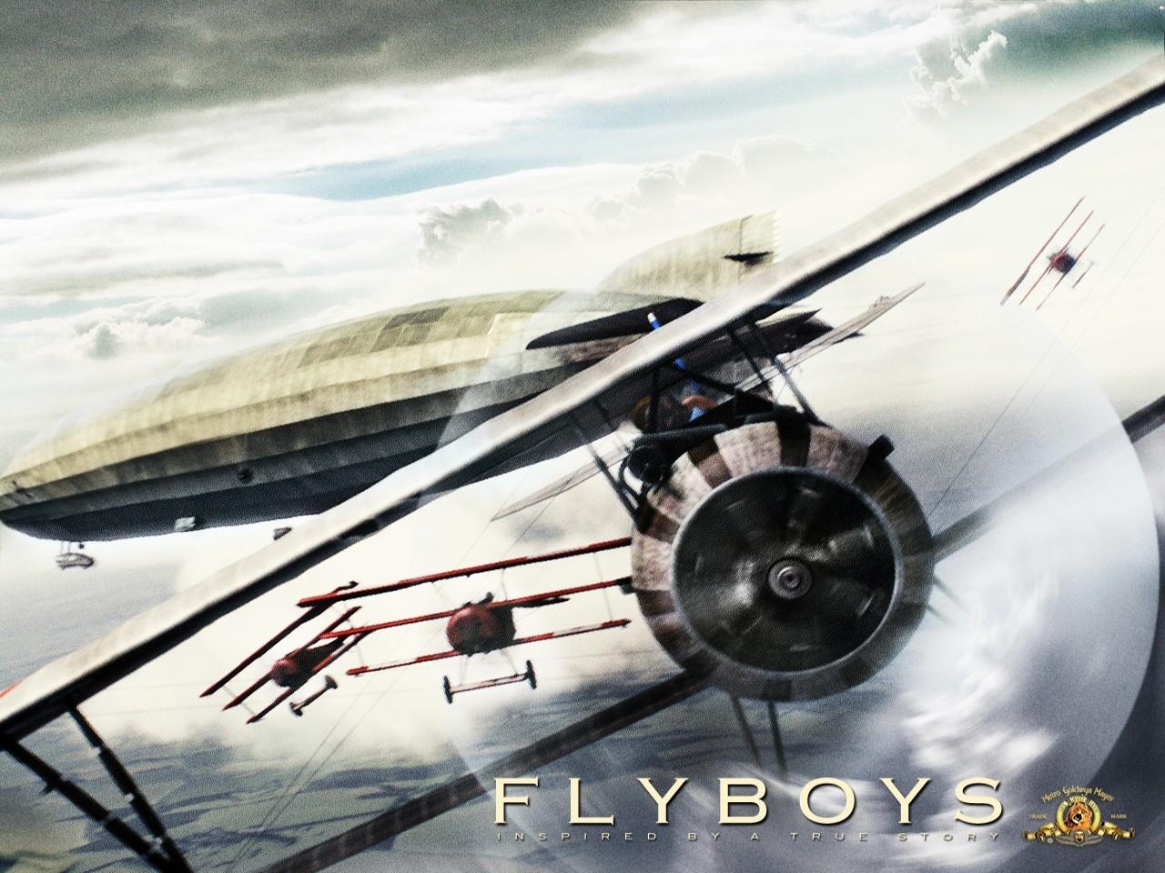 Desktop Wallpaper del film Giovani Aquile - Flyboys