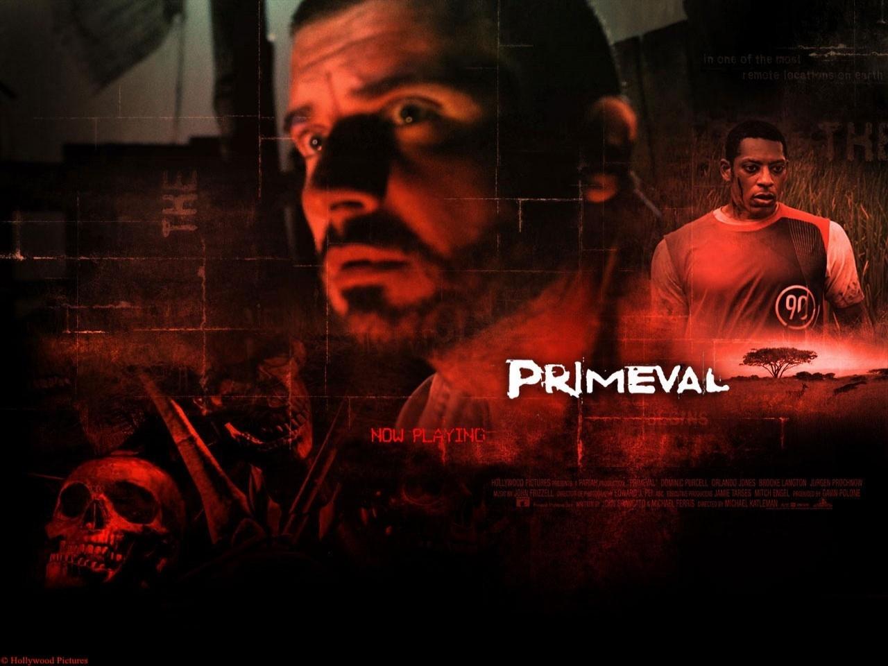 Wallpaper del film Paura primordiale, del 2007
