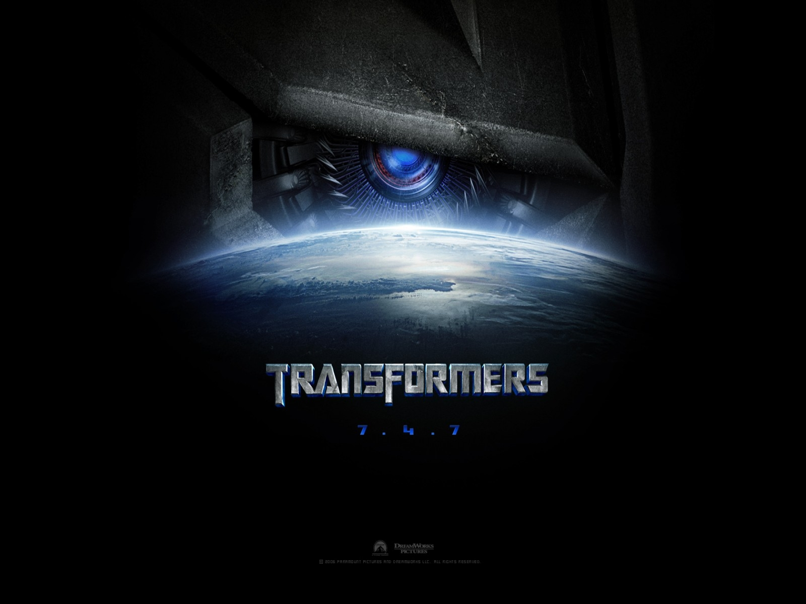 wallpaper del film Transformers