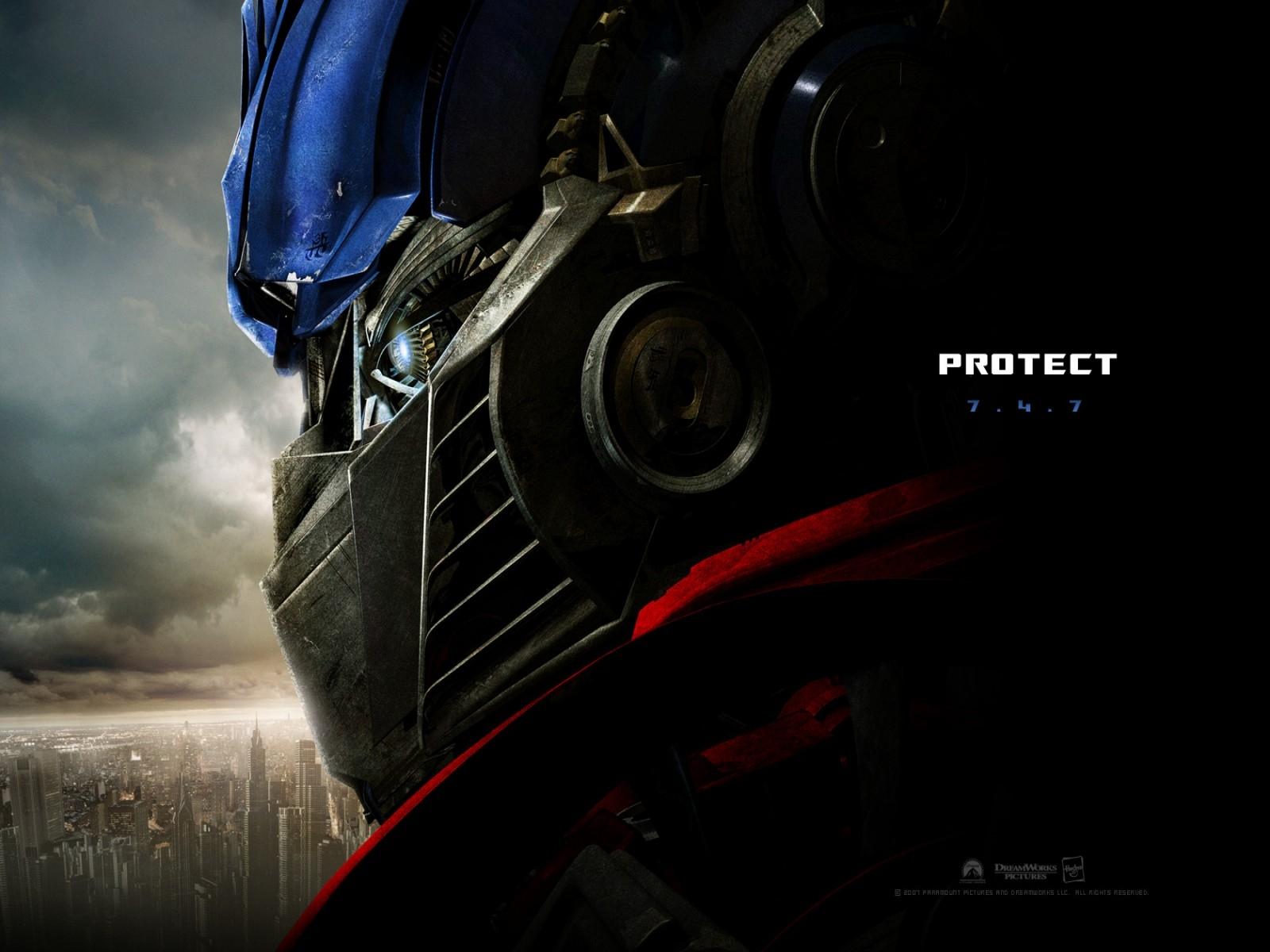 Wallpaper del film Transformers (2007)