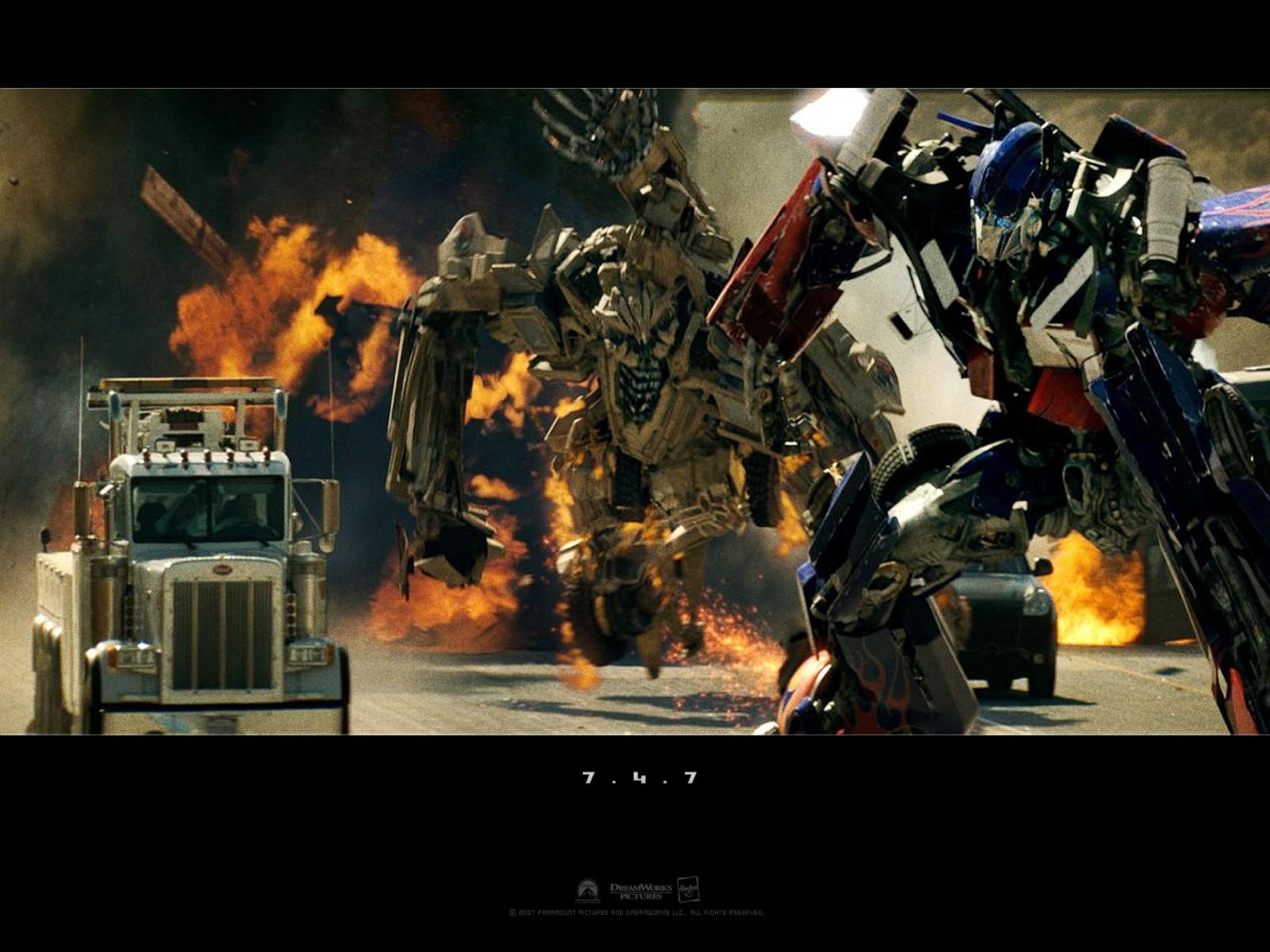 Wallpaper del film Transformers