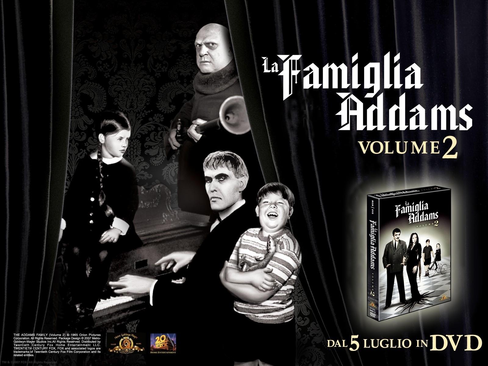 Wallpaper della serie La famiglia Addams