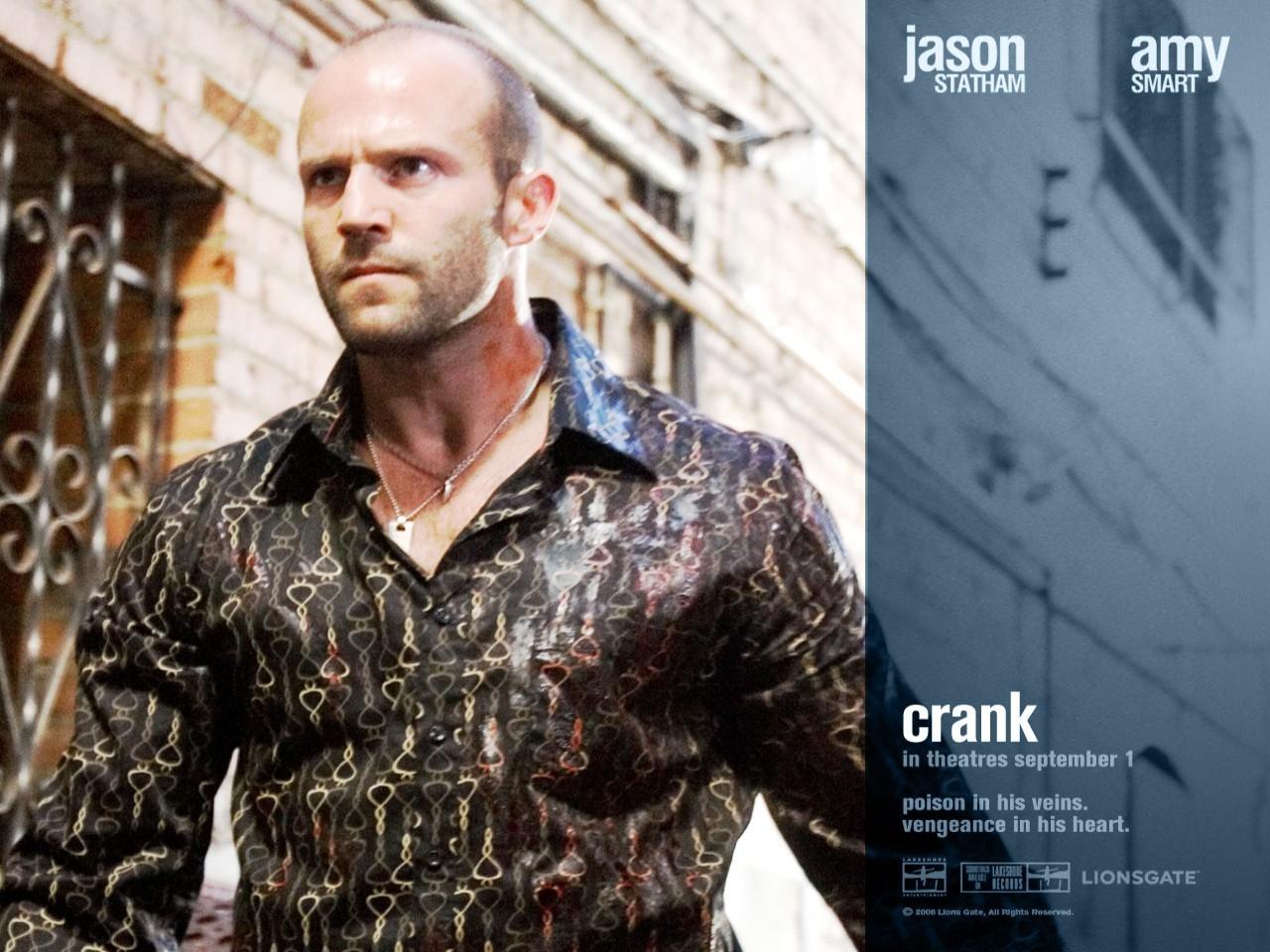 Un wallpaper del film Crank