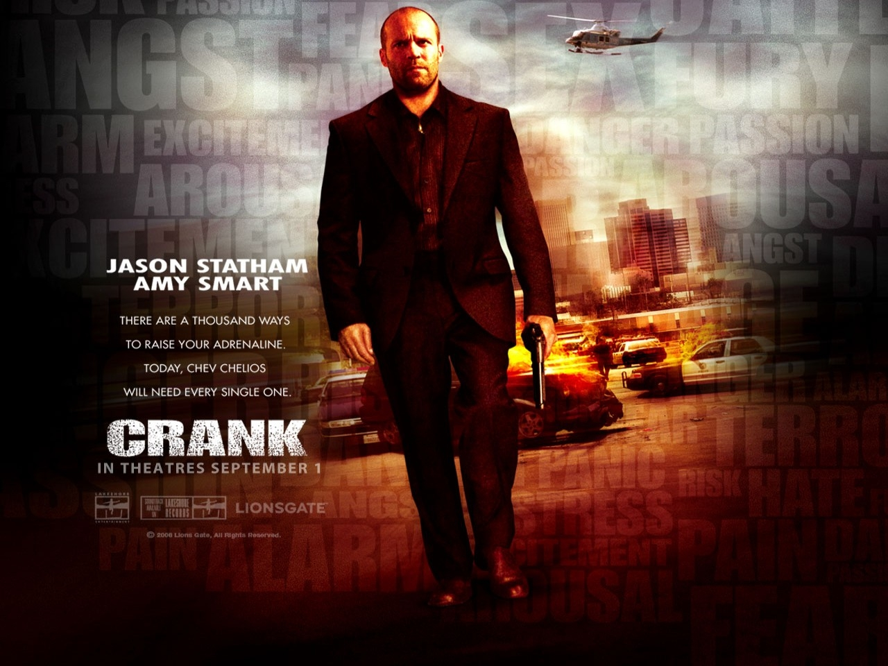 Wallpaper del film Crank (2006)