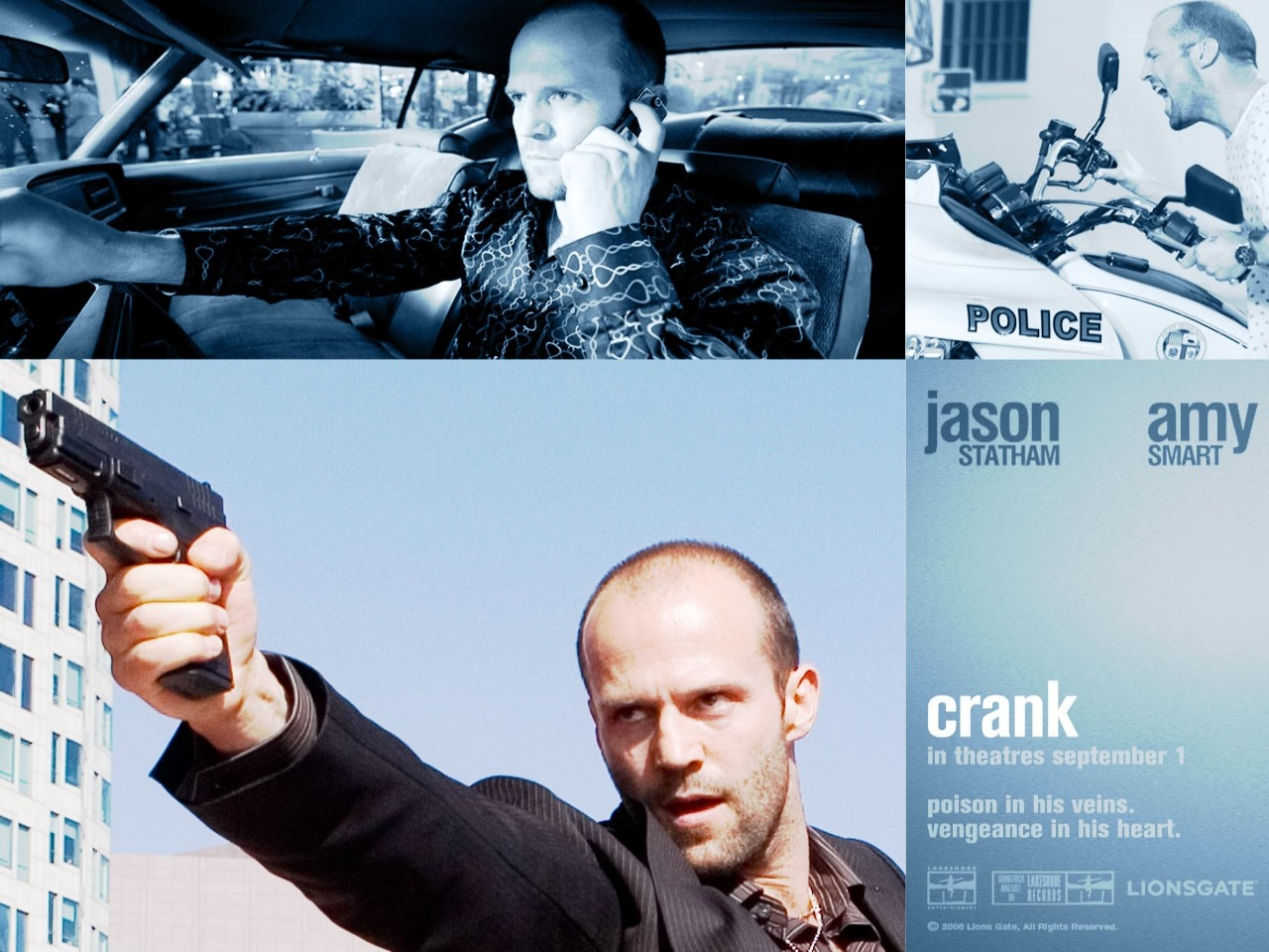Wallpaper del film Crank