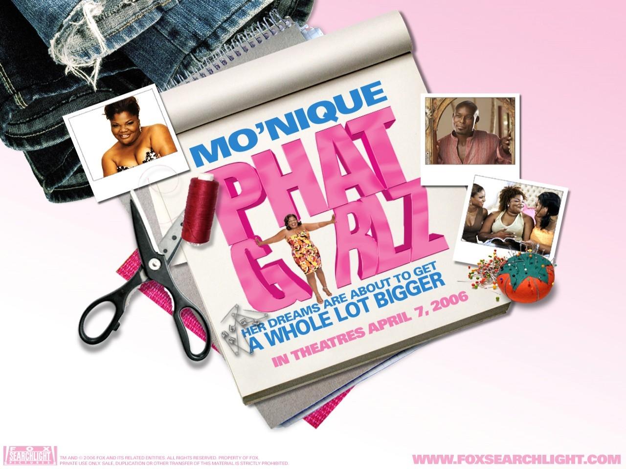 Wallpaper del film Phat Girlz