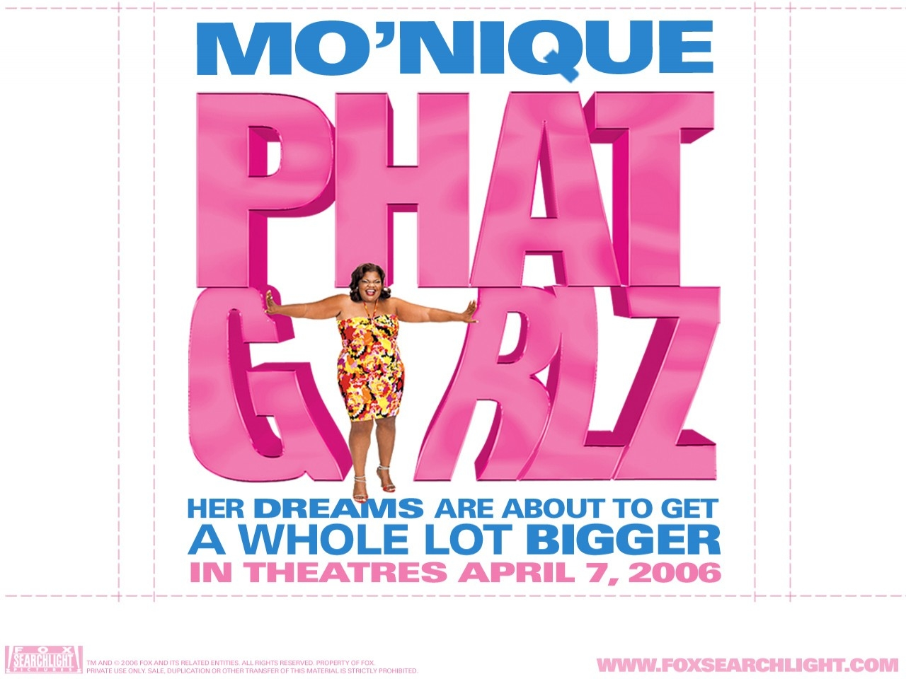 Wallpaper extra-large del film Phat Girlz
