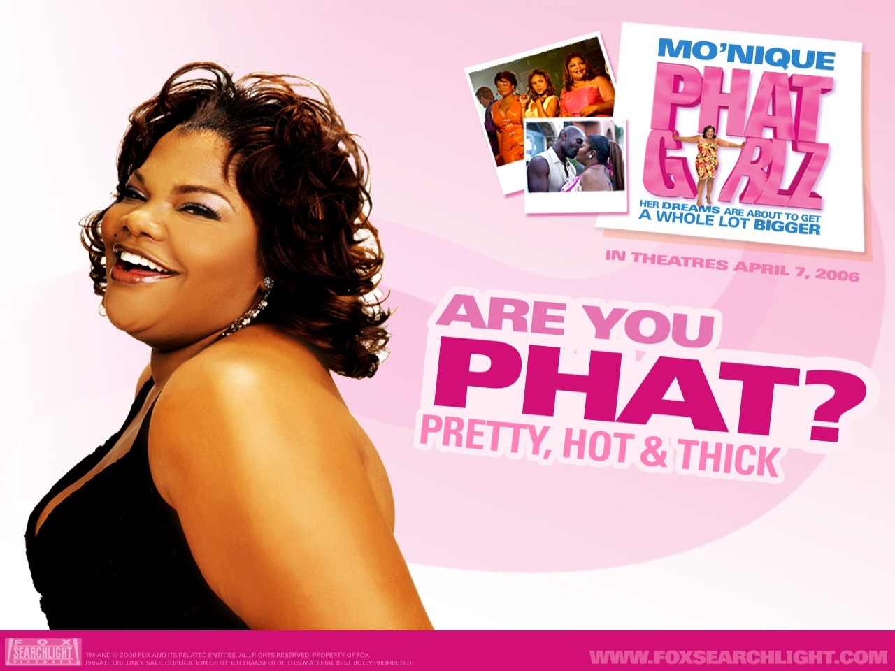 Are you Phat? Un wallpaper del film Phat Girlz