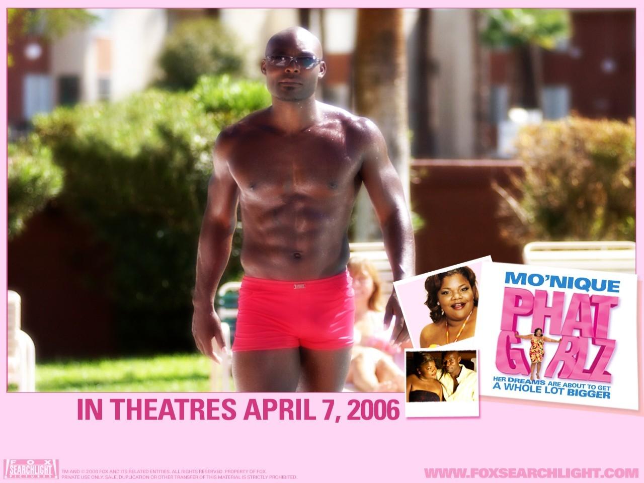 Wallpaper del film Phat Girlz con un prestante protagonista