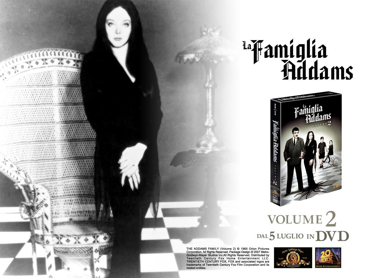 Wallpaper della serie tv La famiglia Addams