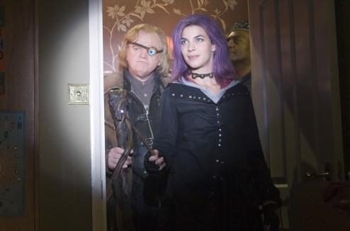 Brendan Gleeson e Natalia Tena in una scena di Harry Potter e l'Ordine della Fenice