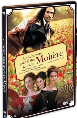 La copertina DVD di Le avventure galanti del giovane Molière