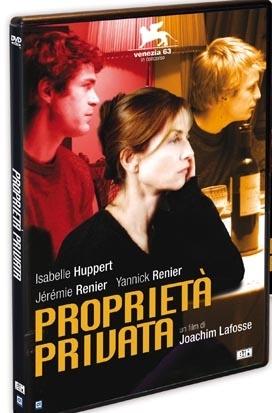 La copertina DVD di Proprietà privata