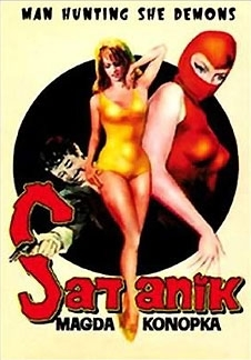 La locandina di Satanik