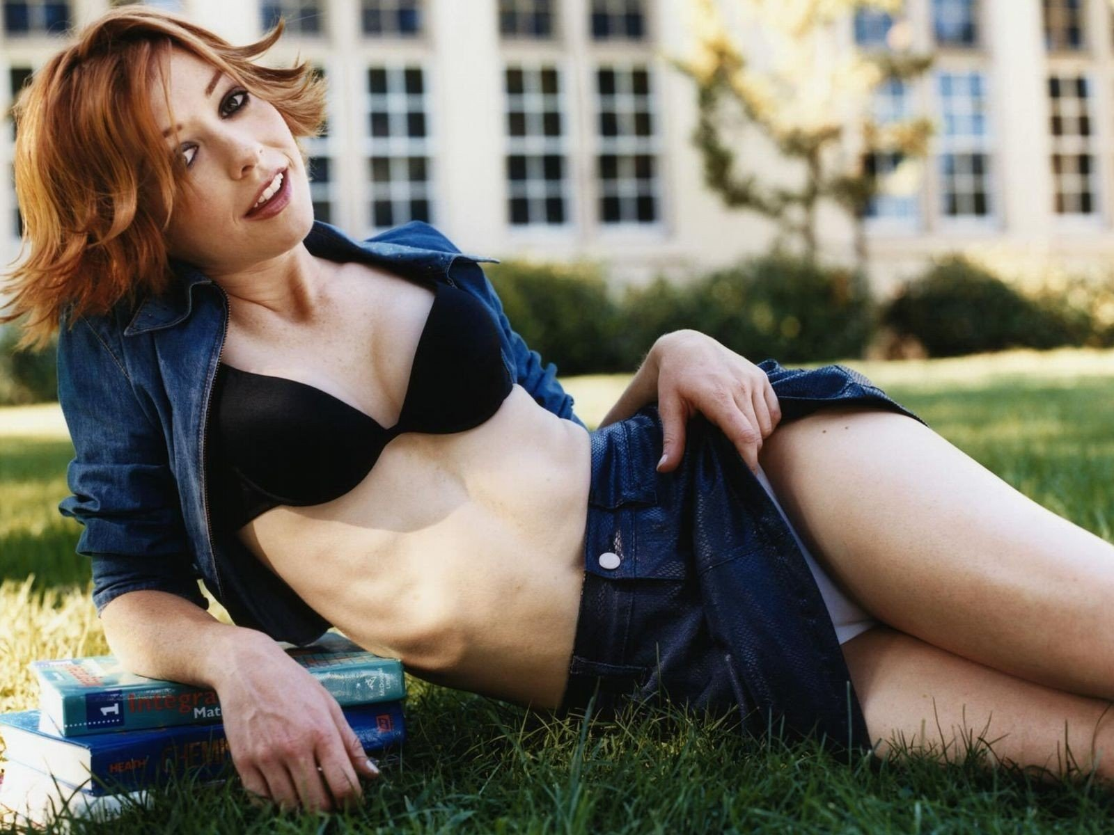 Sexy wallpaper di Alyson Hannigan