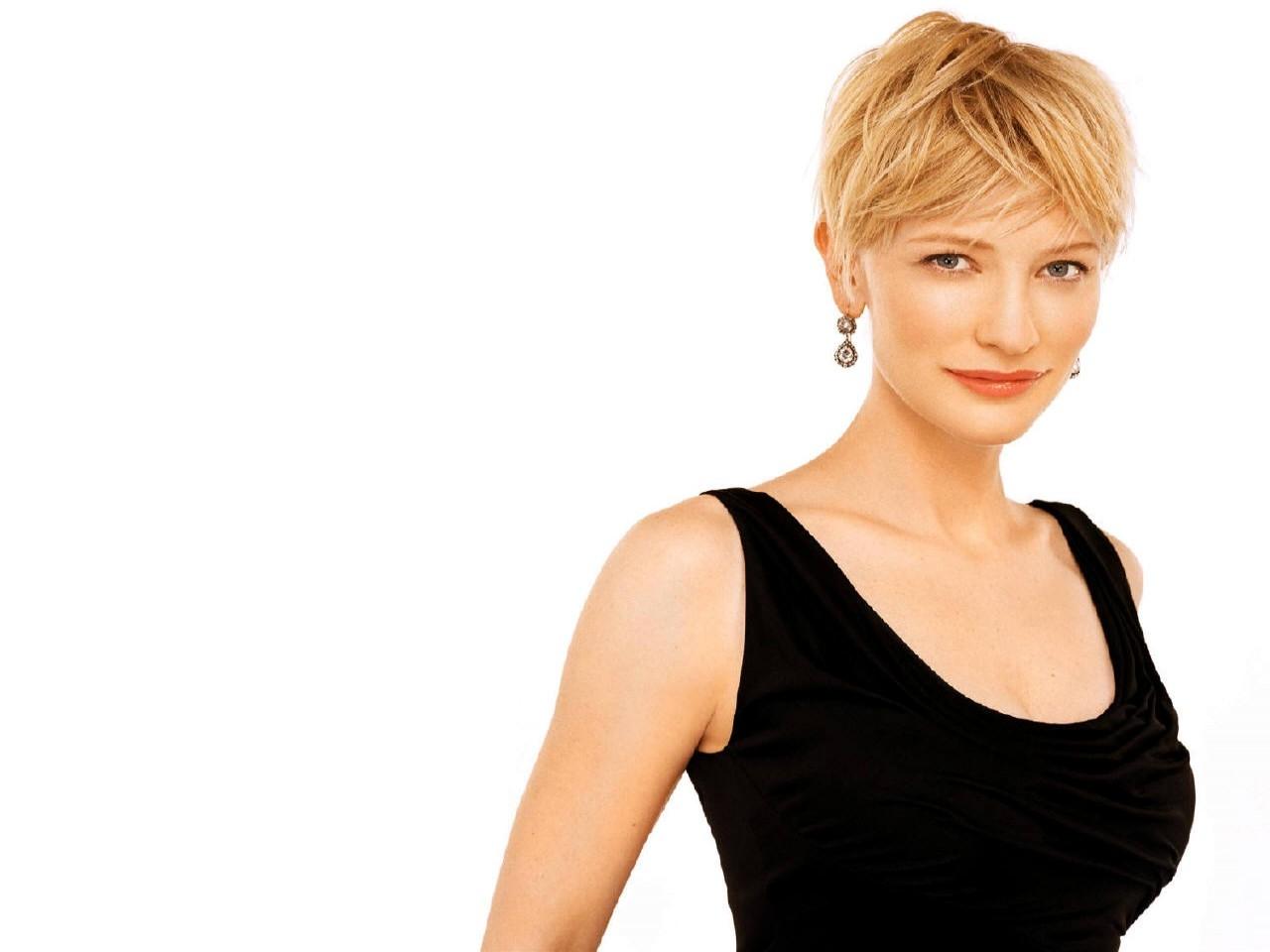 Wallpaper di Cate Blanchett in nero