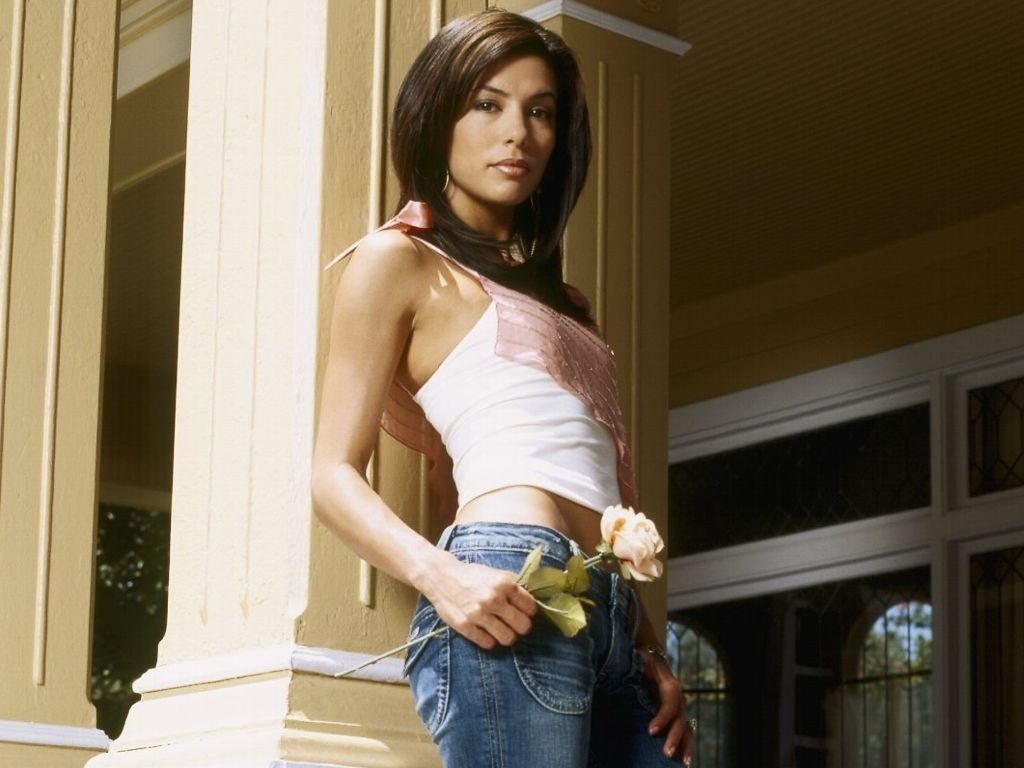 Wallpaper di Eva Longoria Parker in jeans
