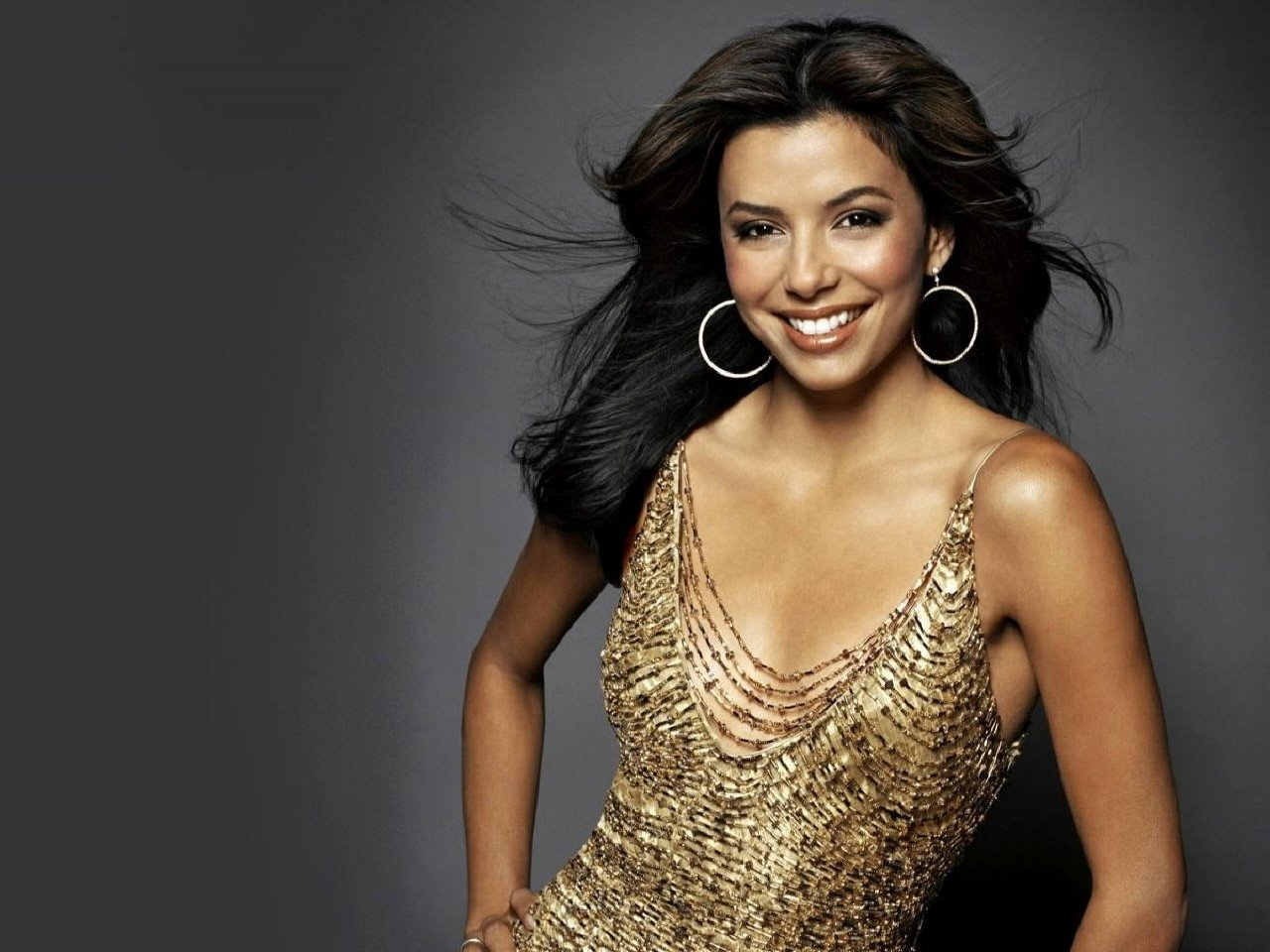 Wallpaper di Eva Longoria Parker - l'attrice interpreta la vulcanica Gaby Solis in Desperate Housewives