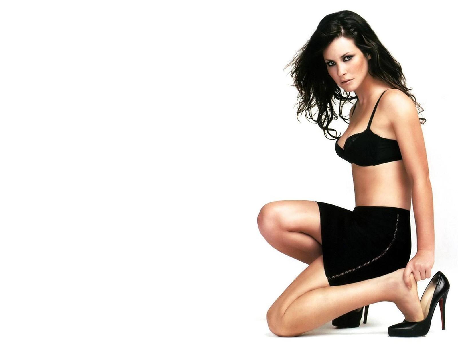 Wallpaper di una supersexy Evangeline Lilly