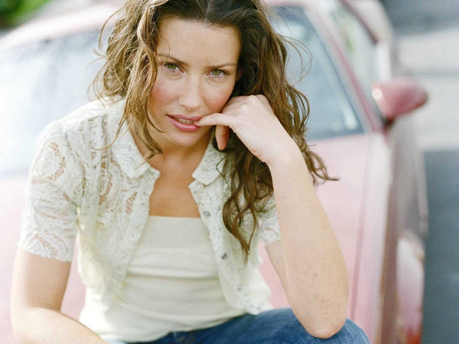 Wallpaper dell'attrice canadese Evangeline Lilly