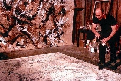 Ed Harris in una immagine della biopic Pollock