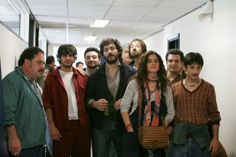 Filippo Timi in una scena del film La signorina Effe, del 2007