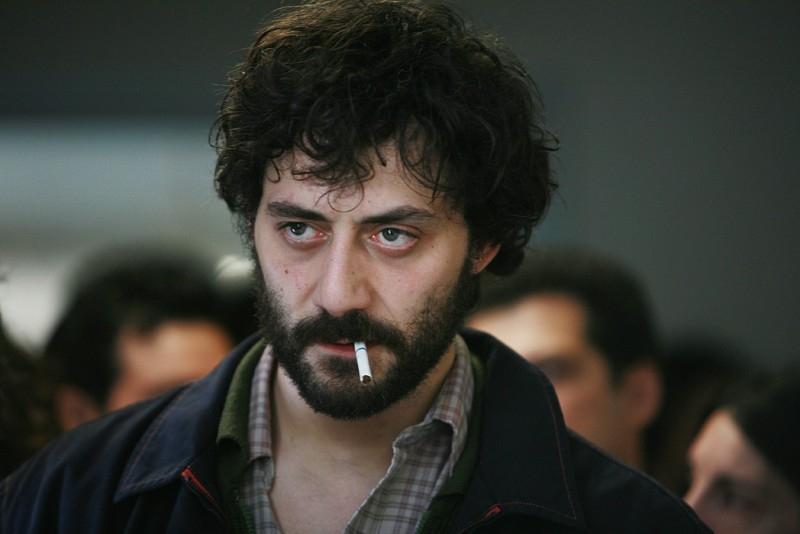 Filippo Timi in una scena de La signorina Effe