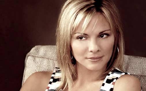 Kim Cattrall in una scena di Sex and the City, episodio Ti è piaciuto?