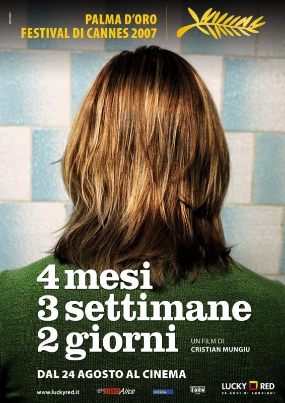 La locandina di italiana di 4 Mesi, 3 Settimane e 2 Giorni