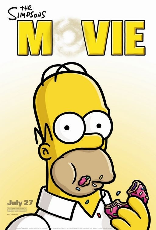 Un poster per The Simpsons Movie