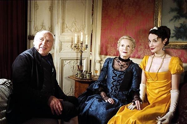 Michel Piccoli, Bulle Ogier e Jeanne Balibar in una scena del film La duchessa di Langeais