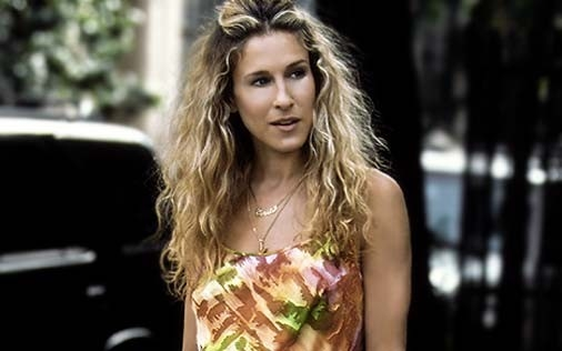 Sarah Jessica Parker in una immagine di Sex and the City, episodio Ti è piaciuto?