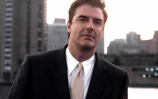 Chris Noth in una scena di Sex and the City, episodio Il momento giusto