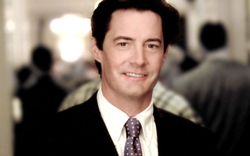 Kyle MacLachlan in una scena di Sex and the City, episodio La paura di scegliere