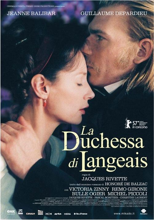 La locandina di La duchessa di Langeais