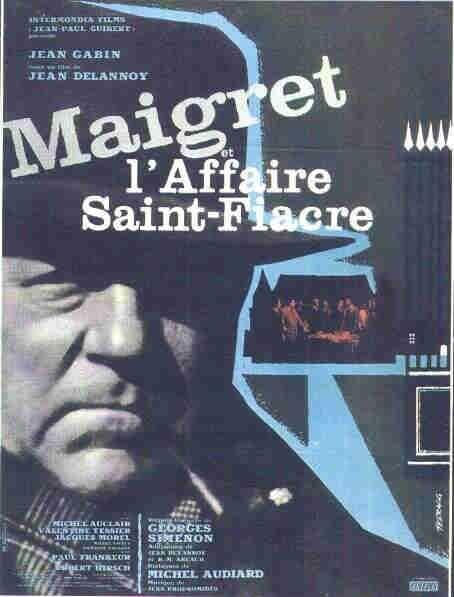 La locandina di Maigret e il caso Saint Fiacre